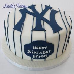 New York Yankees Jersey Cake