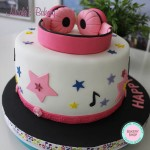DJ Headphones Cake Design