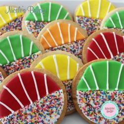 Colorful Sugar Cookies