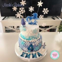 Frozen II Theme Cake