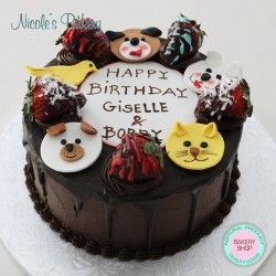 Cake with Pets