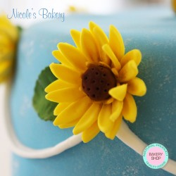Cake with Daisies
